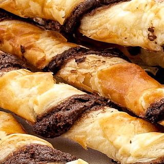 Chocolate Puff Pastry Twists Recipes