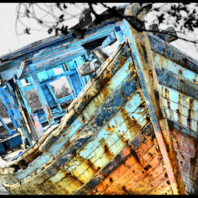 Old Ship by Firman Surya - Artistic Objects Other Objects
