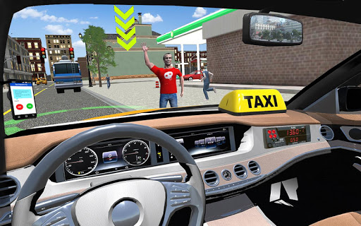City Taxi Driving simulator: online Cab Games 2020 apkpoly screenshots 1