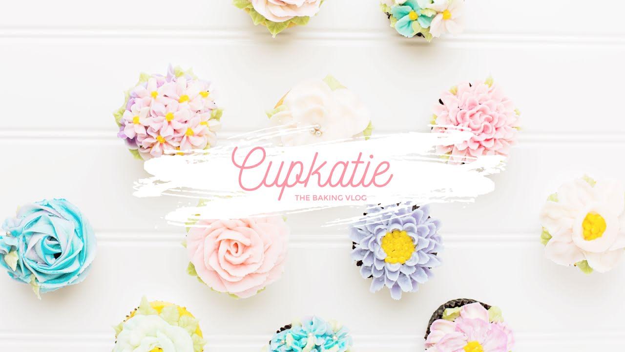 Cupkatie Baking Vlog - YouTube Channel Art Template