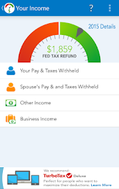TaxCaster by TurboTax - Free Screenshot 3