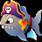 Fish vs Pirates logo