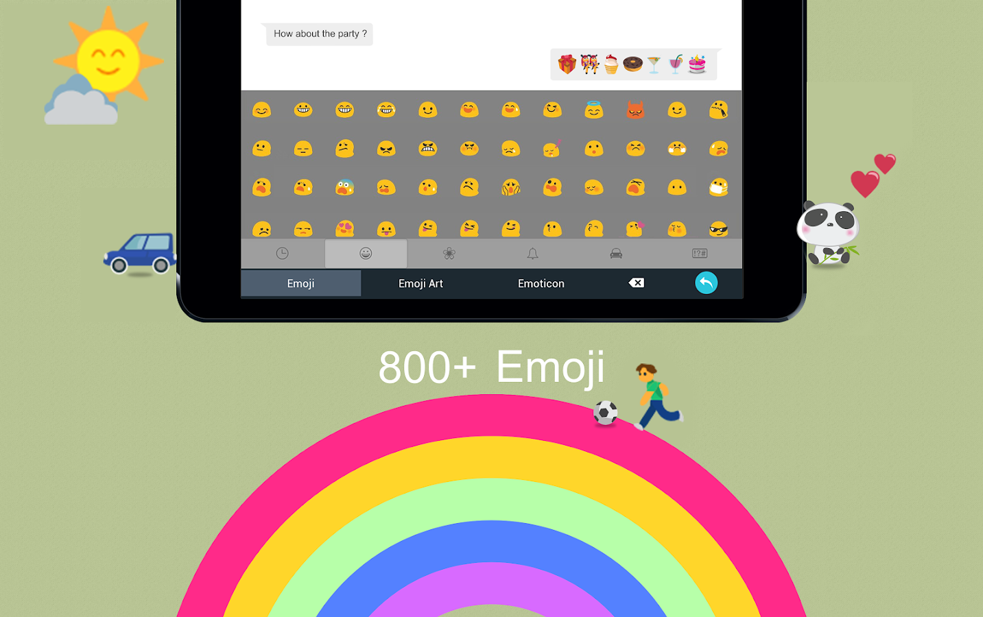 TouchPal - Cute Emoji Keyboard- screenshot