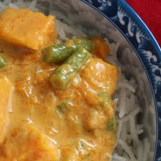 Thai Pumpkin Sweet Potato Curry