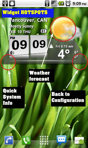 3D Digital Weather Clock screenshot 4