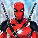 Superhero Iron Ninja Battle: City Rescue Fight Sim icon