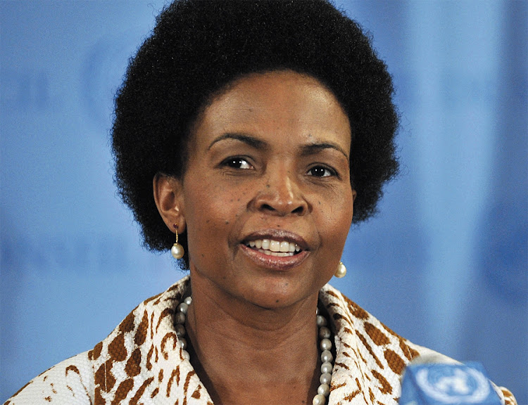 International Relations and Co-operation Minister Maite Nkoana-Mashabane. Picture: DIRCO