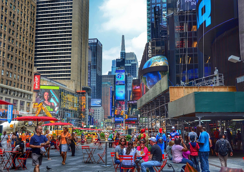 People in Times Square di utente cancellato