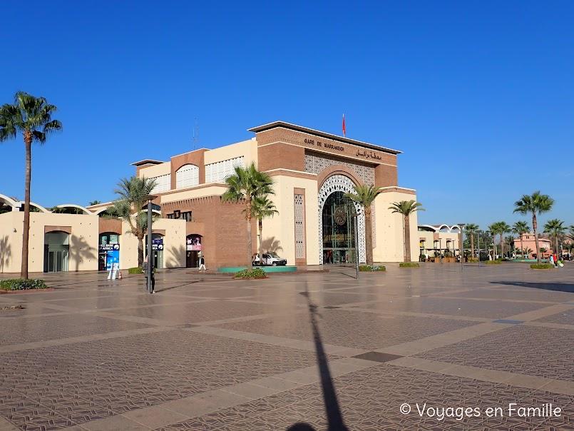 Marrakech, gare