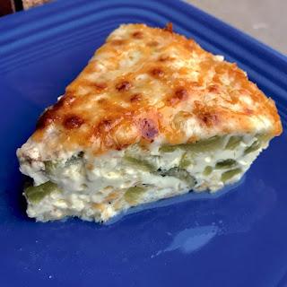 Instant Pot Keto Poblano Cheese Quiche.