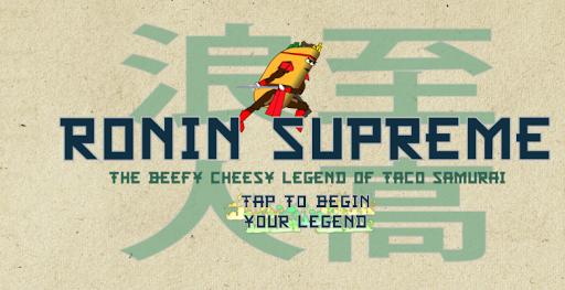 Ronin Supreme