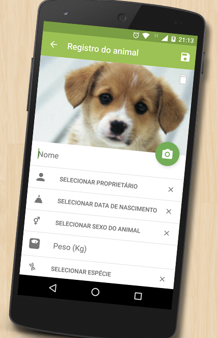 Ficha Animal VET- screenshot
