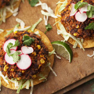 Black Bean Chipotle Burgers.