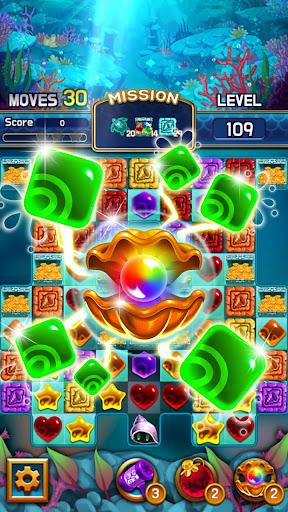 Jewel Abyss: capturas de pantalla de Match3 3