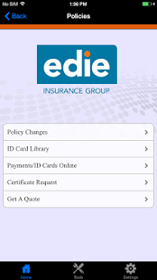 Edie Insurance Group- screenshot thumbnail