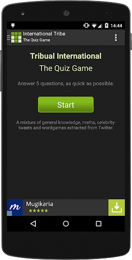 Tribual quiz game
