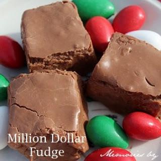 Million Dollar Fudge Recipe