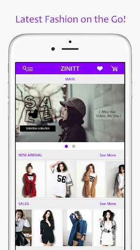 Zinitt Shopping App