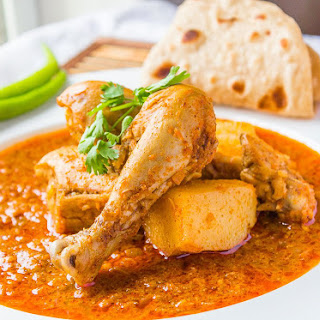 Koli Chicken curry (Navsacha Kombda)