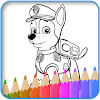 How to color Paw Patrol new game 2017