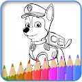 How to color Paw Patrol new game 2017 APK