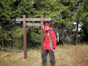 Photo: 22.Pamiątkowa fotka na Gorcu (1228 m).
