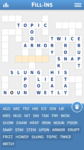 Fill-Ins u00b7 Word Fit Puzzles 1.16 screenshots 2