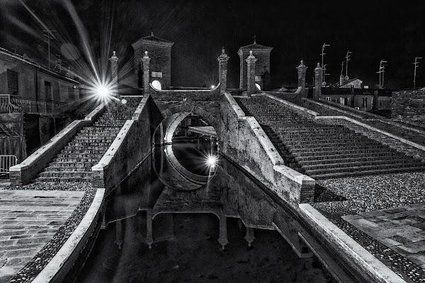 Comacchio di notte.  di Alan_Gallo