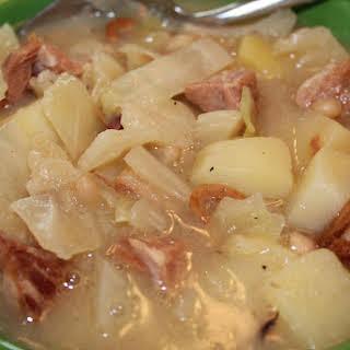 Ham Bone Soup.