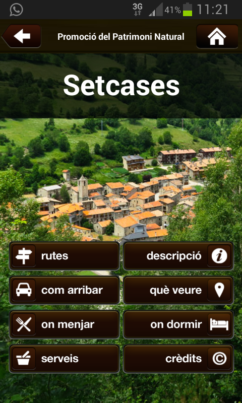 Natura Local- screenshot