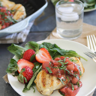 Strawberry Sauce Chicken Recipes.
