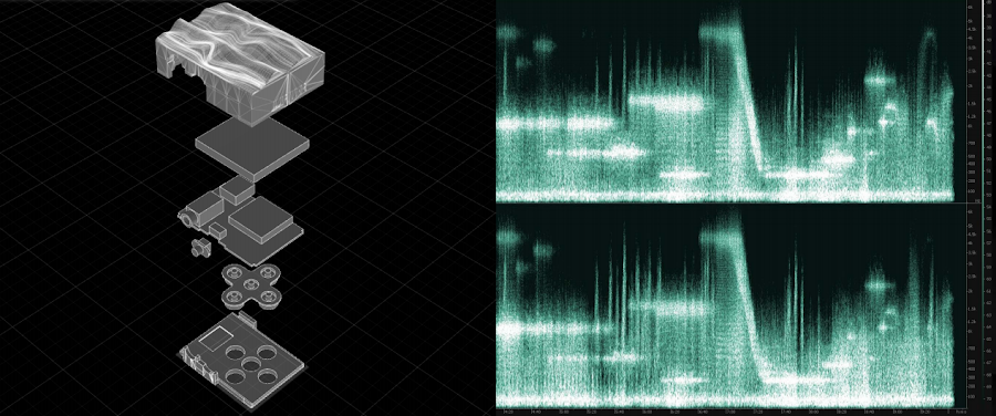 Open source NASA sound recordings that Tim and his team turned into audio and visual art.