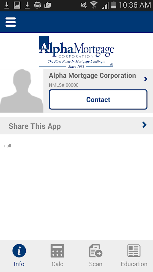 AlphaHome- screenshot