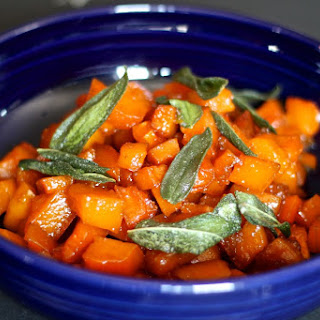 Caramelized Butternut Squash with Fried Sage