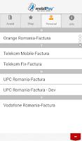Screenshot of mobilPay Wallet