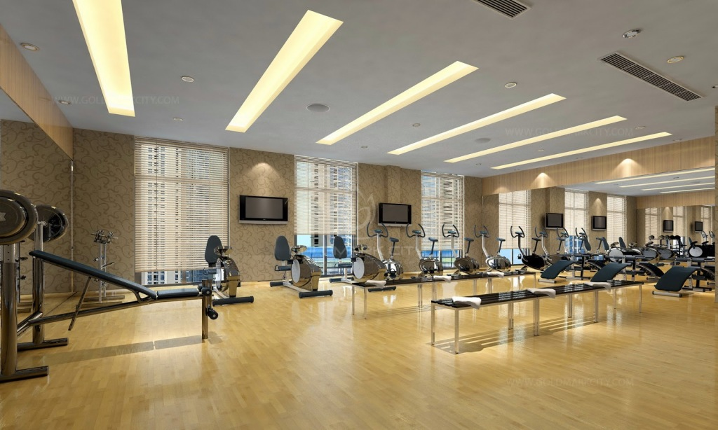 Phòng tập Gym tại chung cư Goldmark City