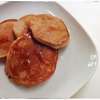 Wholemeal & Banana Pancakes.