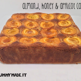 Almond, Honey and Apricot Cake