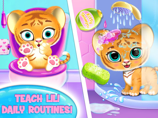 Baby Tiger Care - My Cute Virtual Pet Friend apkpoly screenshots 14