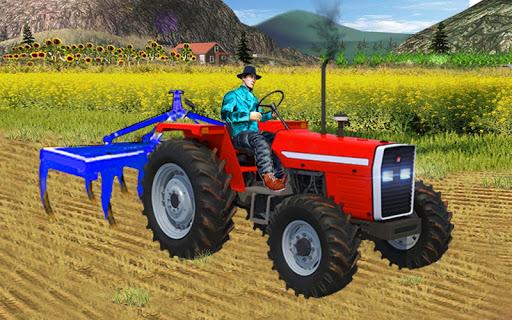 Heavy Duty Tractor Drive 3d: Real Farming Games  captures d'u00e9cran 1