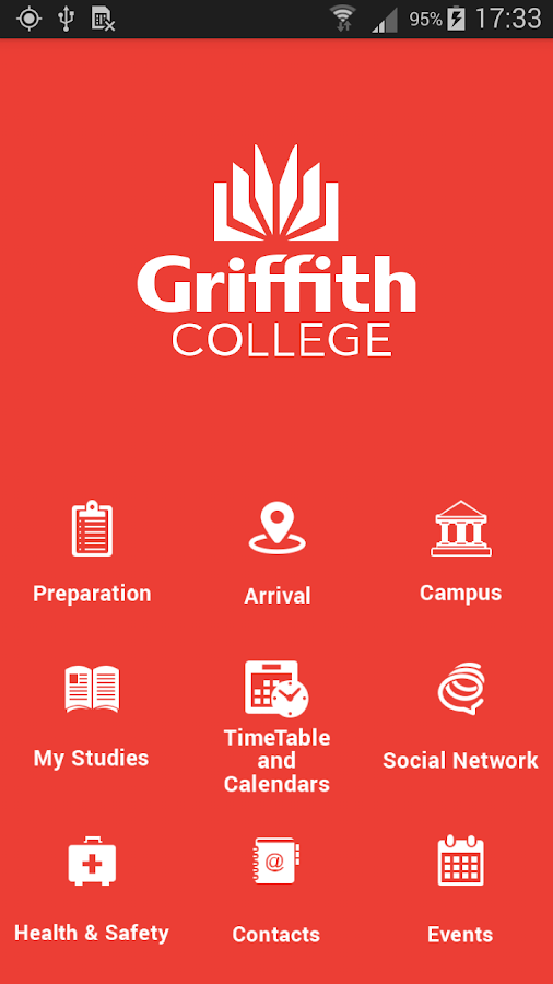 Griffith College- screenshot