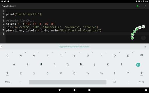 R Programming Compiler screenshot 9