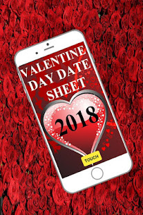 Valentine Day Date Sheet 2018 التطبيقات على Google Play