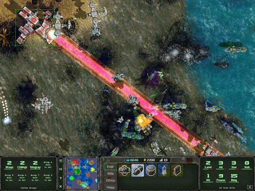 Land Air Sea Warfare RTS 1.0.21 screenshots 7