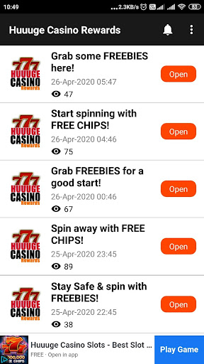 Download Huuuge Casino Rewards Free Chips Diamond Slots Free