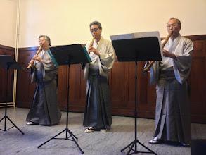 Photo: Kenshūkan trio