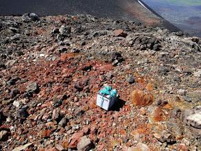 Photo: вот кто мусорит? конечно вулканологи. и сразу по-крупному.