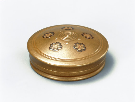 Incense case in shape of sacred gem.