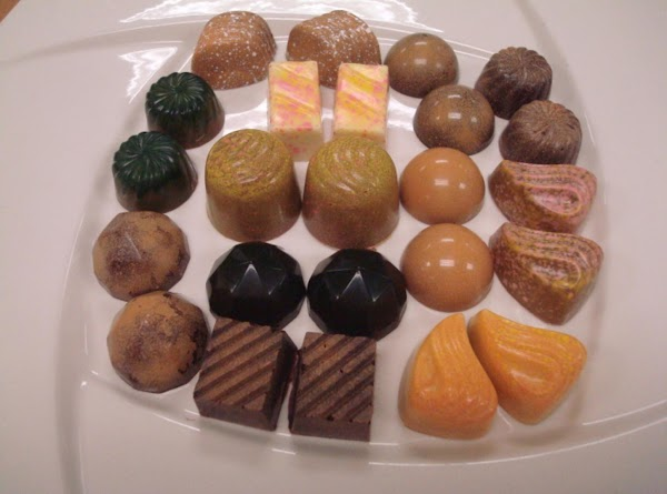 Vanilla Ganache (for Filling Chocolates) Recipe