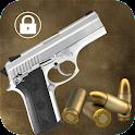 Pistol screen lock icon
